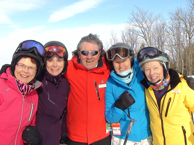 Join us for the Skiing and stay for the friends